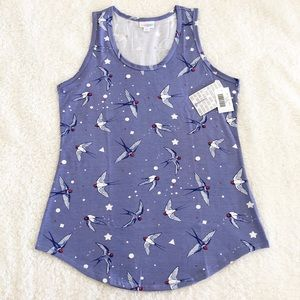 NWT - Lularoe Tank Top Beautiful Birds